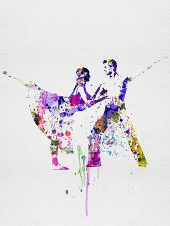 Romantic Ballet Watercolor 2 by Irina March