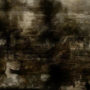 Art Abstract Acrylic Background in Brown, Grey and Black Colors by Irina QQQ