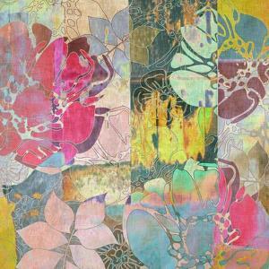 Art Floral Grunge Background Pattern by Irina QQQ