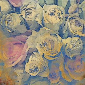 Art Floral Vintage Colorful Background. To See Similar, Please Visit My Portfolio by Irina QQQ