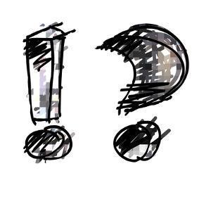 Art Sketching Set Of Alphabet On White Background 3D by Irina QQQ