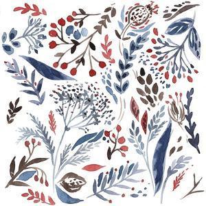 Botanical pattern 4 by Irina Trzaskos Studio