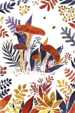 FALL FOREST 2 by Irina Trzaskos Studio