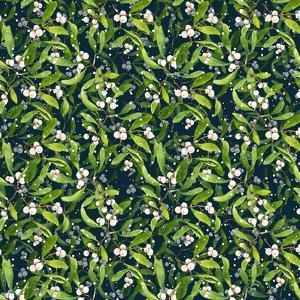 Mistletoe pattern I by Irina Trzaskos Studio