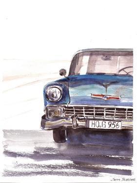 Vintage Car by Irina Trzaskos Studio