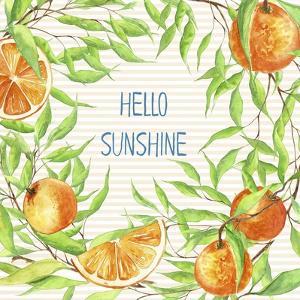 Hello Sunshine by Irina Trzaskos Studios