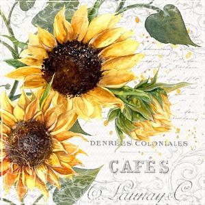Summertime Sunflowers II by Irina Trzaskos Studios