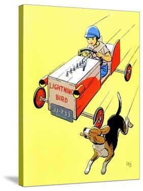 Matchbox Race - Jack & Jill by Iris Beatty Johnson