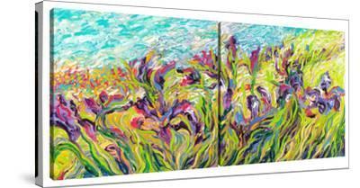 Irises by Iris (Diptych) by Iris Scott