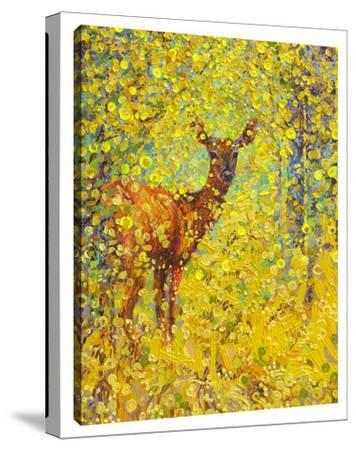 White Tail Deer by Iris Scott