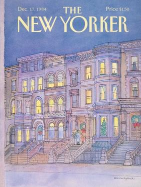The New Yorker Cover - December 17, 1984 by Iris VanRynbach