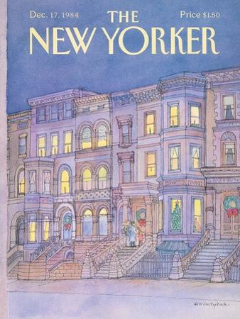 The New Yorker Cover - December 17, 1984