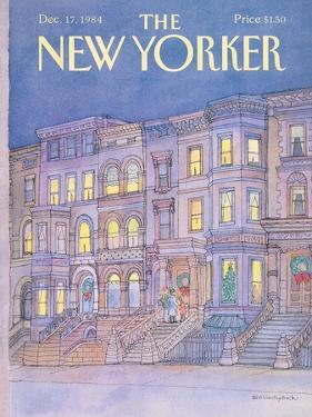 The New Yorker Cover - December 17, 1984 by Iris VanRynbach
