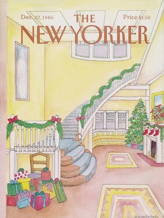 The New Yorker Cover - December 22, 1986