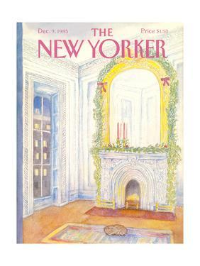 The New Yorker Cover - December 9, 1985 by Iris VanRynbach