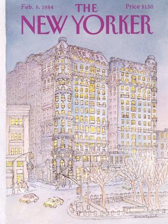 The New Yorker Cover - February 6, 1984