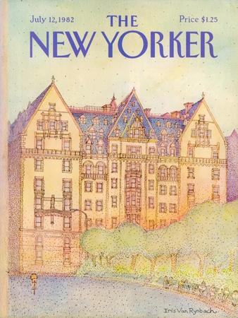 The New Yorker Cover - July 12, 1982