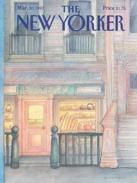 The New Yorker Cover - March 30, 1987 by Iris VanRynbach