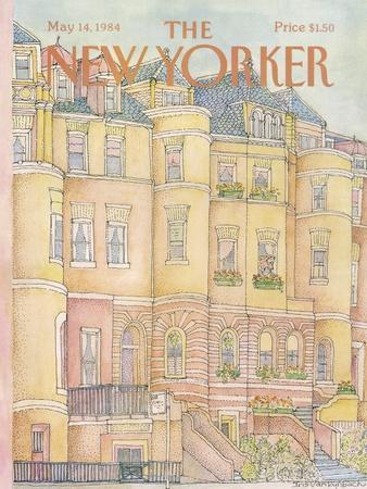 The New Yorker Cover - May 14, 1984