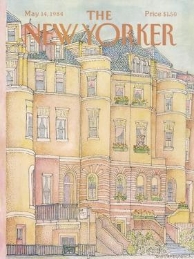 The New Yorker Cover - May 14, 1984 by Iris VanRynbach