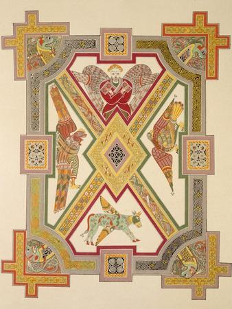 The Four Evangelists, from a Facsimile Copy of the Book of Kells, Pub. by Day and Son