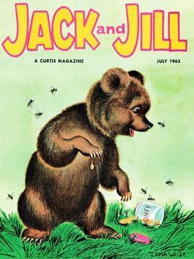 Opps! - Jack and Jill, July 1963 by Irma Wilde