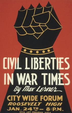 Iron Fist, Civil Liberties Poster