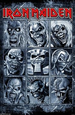 Iron Maiden - Album Grid