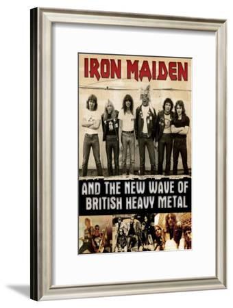 Iron Maiden and the New Wave of British Heavy Metal--Framed Masterprint