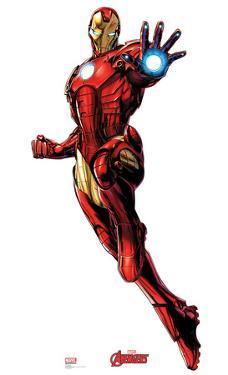 Iron Man - Marvel Avengers Assemble Lifesize Cardboard Cutout