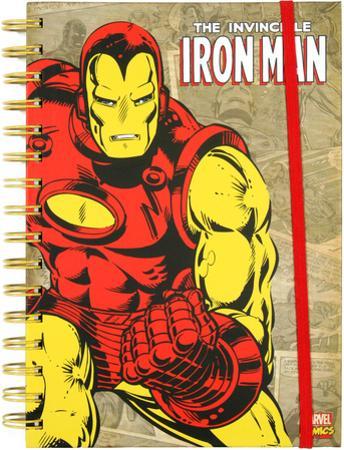 Iron Man Retro Spiral Journal