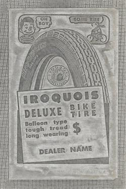 Iroquois Deluxe Bike Tires