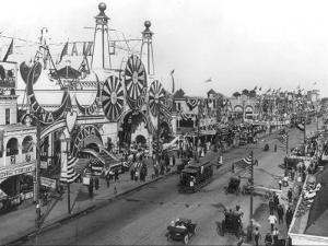 Luna Park and Surf Avenue by Irving Underhill