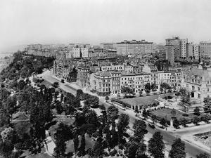 Overview of Riverside Drive and Riverside Park by Irving Underhill