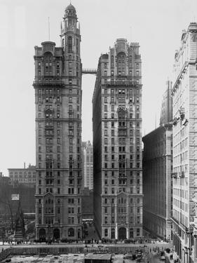 Trinity and U.S. Realty Buildings, New York by Irving Underhill