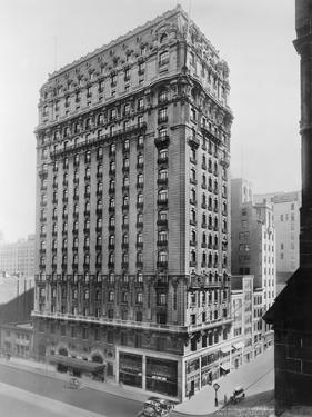 View of St Regis Hotel in NYC by Irving Underhill