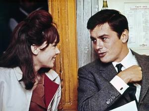 """Is Paris burning?"" by Rene Clement with Leslie Caron and Alain Delon, 1966 (photo)"