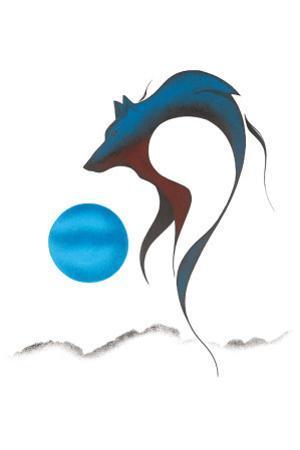Wolf Spirit I by Isaac Bignell