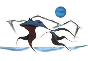 Wolf Spirit II by Isaac Bignell