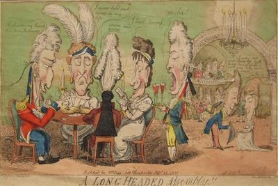 A Long Headed Assembly!!, 1806