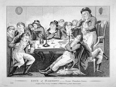Son's of Harmony - Scene Chandois Street, 1801