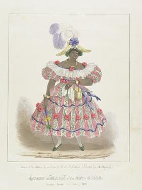Queen or 'Maam' of the Set-Girls, Plate 1 from 'Sketches of Character... ', 1838 by Isaac Mendes Belisario