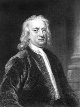 Isaac Newton, English Mathematician, Astronomer and Physicist by E Scriven