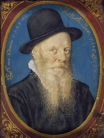 Elderly Man in a Black Hat, 1588