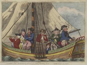 A Sea Voyage, 1796 by Isaac Robert Cruikshank