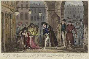 Life in London by Isaac Robert Cruikshank