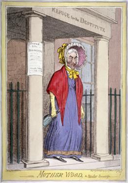 Mother Wood, the Popular Procuress!, 1820 by Isaac Robert Cruikshank
