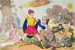 The Champion of Westminster by Isaac Robert Cruikshank