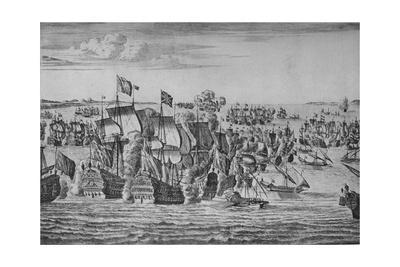 'The Battle of Malaga', c1704