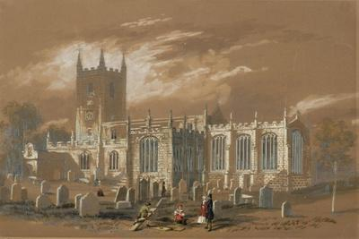 St John's Church, Newcastle, 1848 (Bodycolour, Pencil and W/C on Paper)